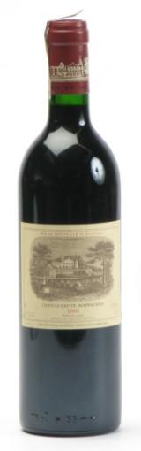 1 fl. Château Lafite Rothschild 1986. (1)