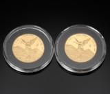 Mexico, guldmønter 1/4 Onza 2005 og 2006 (2)