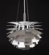 Poul Henningsen. PH Artichoke, steel, Ø. 48 cm. + number cert.