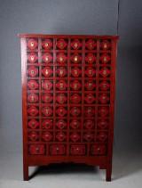 Apotekarskåp, kinesisk stil
