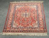 Persian Isfahan rug, 160 x 106 cm