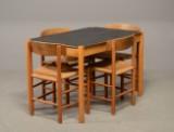 FDB Møbler - Køkkensæt, spisebord samt 4 stole (5)