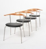 Hans J. Wegner 1914 - 2007. Fire stole, model PP70 (4)