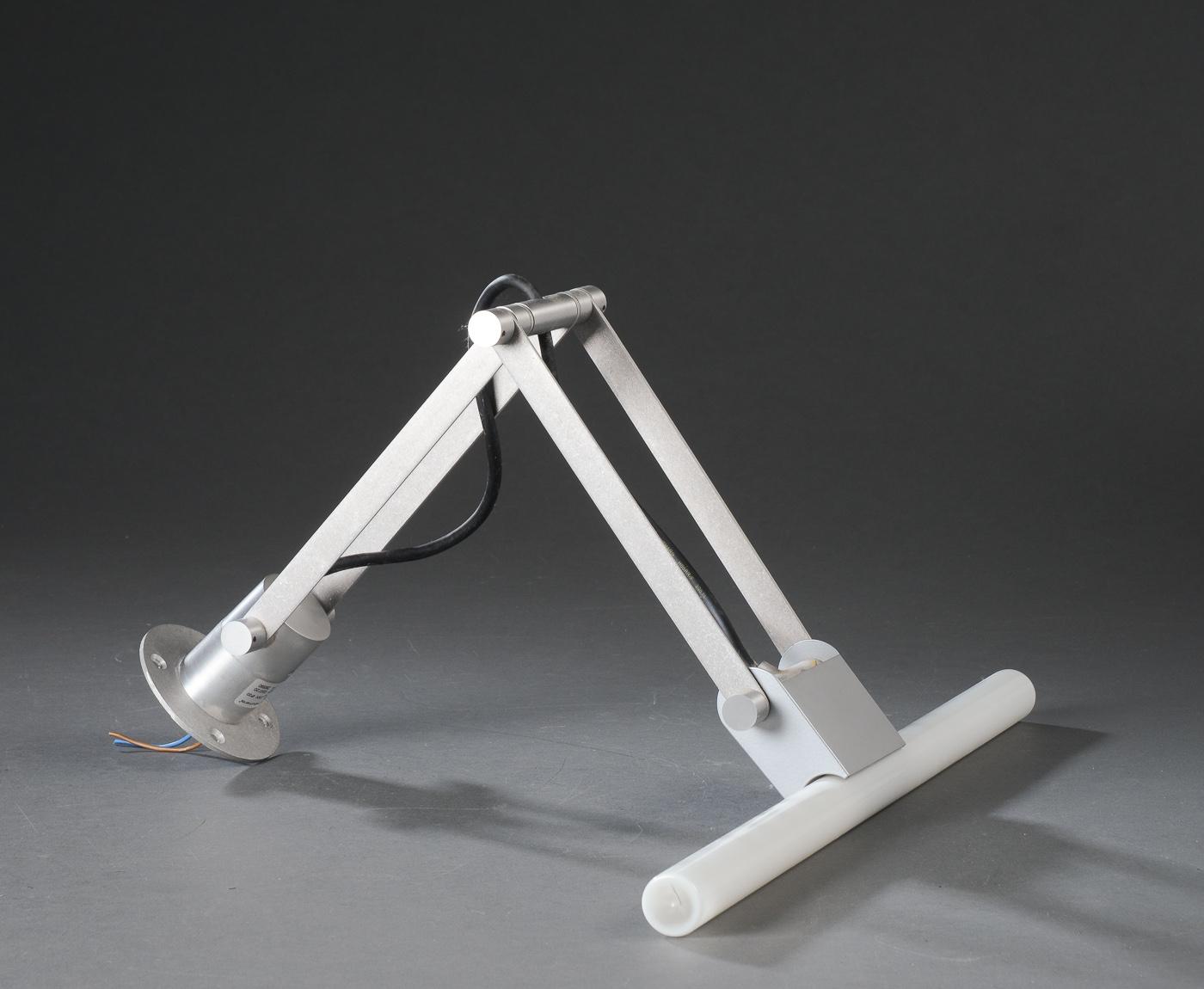 Modular Nomad Lamp : Modular lighting instruments nomad linestra lampe af stål denne