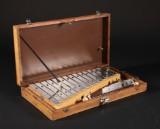 Xylofon slagtøjsinstrument i trækasse