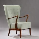 Slagelse Møbelværk. Easy chair