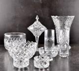 Parti glasföremål (9)