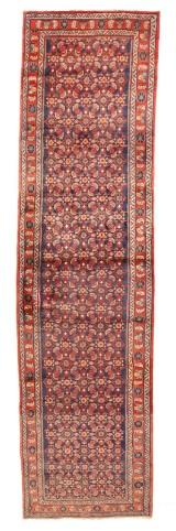 Persisk Mahal løber, 410x107 cm.