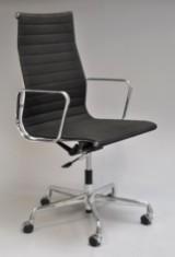 Charles Eames. Office chair, model EA-119, black hopsack