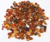 Unpolished amber collection. Weight 730 g