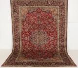 Persisk handknuten matta Nadjafabad mått 336x235