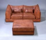 De Sede Exclusiv. Fritstående modul-Lounge sofa, model DS 19A. 'Pagode'. (3)