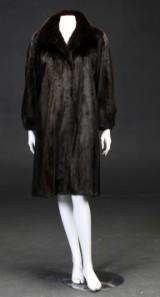 Birger Christensen. Mink coat, size approx. 36