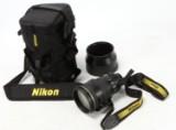 Nikon 200 mm. objektiv i stand 3