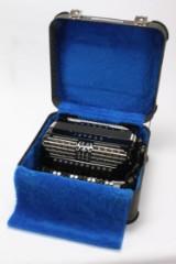 Bugari accordion 351 Silver-plus