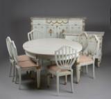 Dining suite, Louis XVI style (11)