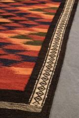 Kelim, tæppe, 370 x 150 cm