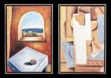 Ubekendt kunstner. To kompositioner (2)