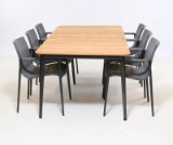Cane-line. 'Core' garden table and six armchairs (7)