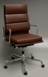 Charles Eames. Office chair with armrests, model EA 219
