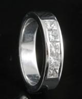 18kt handmade diamond ring approx. 0.89ct