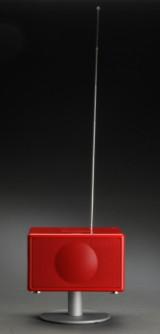 Geneva Lab model S, rød.