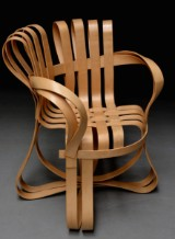 Frank Gehry. 'Cross Check Chair'