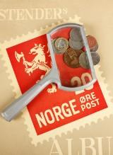 Frimærker, mønter og postkort