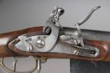 Svensk flintlåsgevær 1814 med bajonet