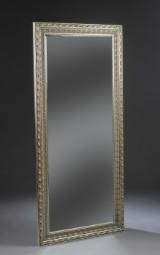 Spejl i sølvfarvet