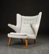 H. J. Wegner. Papa Bear Chair, lounge chair