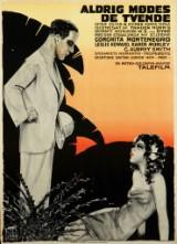 Sven Brasch. Plakat, 'Aldrig mødes de tvende', 1932