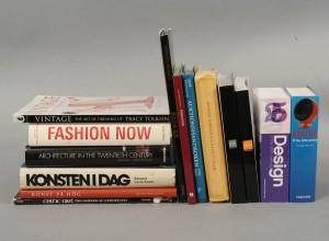 Samling böcker bl.a. konst och mode 14