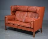 Børge Mogensen. To-pers. kupé sofa, model 2192