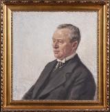 Christian Juel Madsen. Herreportræt