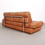 De Sede,  a daybed / lounge sofa, model DS 85 in leather