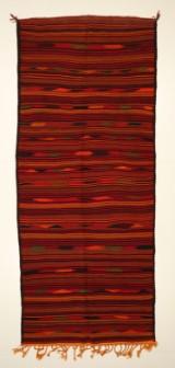 Harsin kelim tæppe, 350x143 cm.