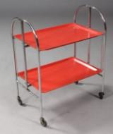Dansk møbelproducent. Rullebord / foldebord