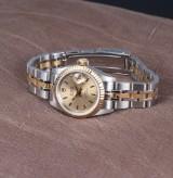 Tudor by Rolex 'Princess-Date'. Dameur i 18 kt. guld og stål, ca. 2000
