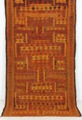 Matta, flatvävd, Harsin-kelim, 276x147 cm