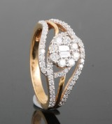 18kt diamond ring approx. 0.70ct