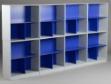 Peter J. Lassen for Montana. Eight shelf modules (8)