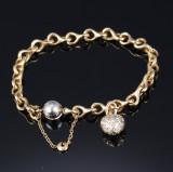 Ole Lynggaard. 'Lænken' bracelet, 18 kt. gold