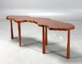 'Sverigö' coffee table, and Gallery, copper
