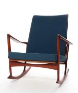 Ib Kofod-Larsen. Rocking chair. Model 650-15