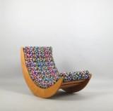 Verner Panton, gyngestol/loungestol model Relaxer 2 fremstillet hos Rosenthal studio-line