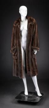 Mink coat, pastel, size 42, labelled CC Fur Design