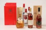 Samling Cognac og Vodka (8)