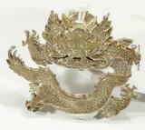Brosch i silver Design: Wiven Nilsson, Nr 10 Drake H=4cm (31g)