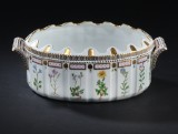 Royal Copenhagen. Flora Danica porcelain monteith ice basin